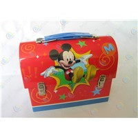 Portable hand tin box for promotional gift,Portable gift box,hand-held box for lunch