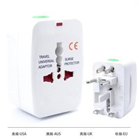 Portable travel adapter for travellers promotional gift with CE&ROHS