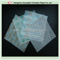Printed Greaseproof Paper for Hamburger Sandwich Wrapping