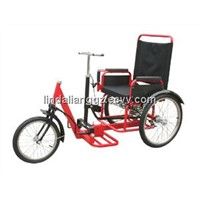 Push-pull Chain-free Children Tricycle SS-1