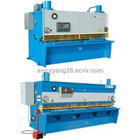 QC11K SERIES HYDRAULIC GUILLOTINE (CNC) SHEARS MACHINE
