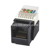 QICC-143 Cat5e UTP Toolless Keystone Jack