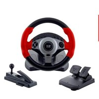 RACING GAME STEERING WHEEL JOYSTICK FOR PS2/PS3/PC