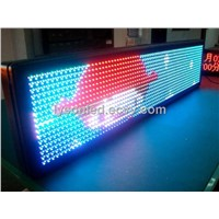 RGB Full Color LED Scrolling Message Sign Board P10 , 9000 Nits