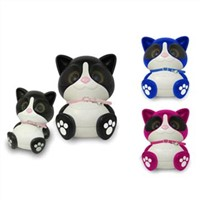 Rechargeable Stereo Mini Bluetooth Cartoon Desion Speaker with USB Support