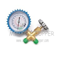 Refrigeration Parts Brass Single Guage Valve