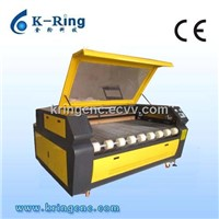 Rolllar feeding system cloth laser cutting machine KR1610