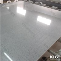 SGS approved eco-fiendly grey quartz stone kitchen countertop