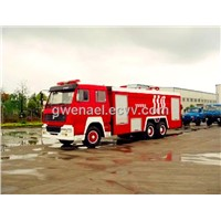 fire fighting truck water tank  SINOTRUK HOWO 6x4 12m3 with foam tank