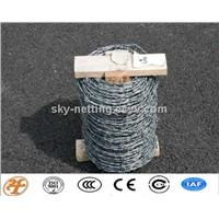SS,GI,PVC coated barb wire for fencing