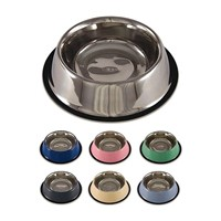 Satinless pet bowl Pet bowl pet feeder,