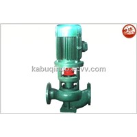 Single-stage single-suction vertical centrifugal pump