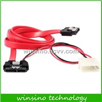Slimline SATA 7+6pin cable for HDD