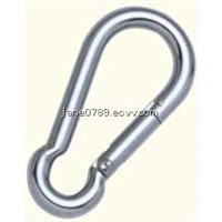 Snap hook DIN5299 form C
