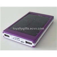 Solar Power Bank with External Battery 10000mah