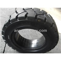 Solid forklift tire 8.15-15