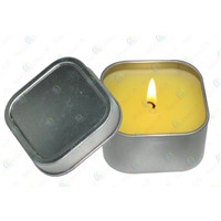 Square Candle Jar,tinplate Candle Holders,Wedding Candle tin boxes