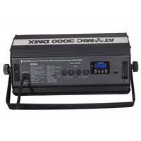 Strobe 3000w with LCD Display  Stage Effect Lighting /MIC 3000W DMX Strobe Light