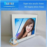 Super nice 15 inch HD acrylic digital picture frame