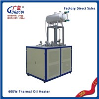 Thermal hot oil heater