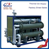 Thermal oil heater for industrial chemical