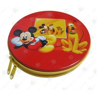 Tinplate CD/DVD box,CD case,tin DVD boxes,Vehicle CD tin box packaging
