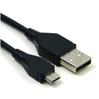 USB 2.0 A Male to Micro-USB B Male Cable