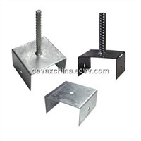U-Type Pole Anchor/U-Type Support Bracket/U-Type Fence Post Support/Pole Anchor