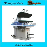Universal laundry press machine