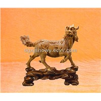 Very Unique-Wood animal Carving-Hand Carved Figurine-Statue-Sculpture