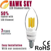 Warm White 50w replacements led filament bulb company