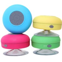 Waterproof Wireless Bluetooth Portable Shower Car Music Speaker