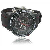 Waterproof watch camera with special price 4GB