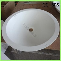 Wholesale high quality bathroom solid surface basin