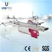 Wood cutting sliding table saw machine