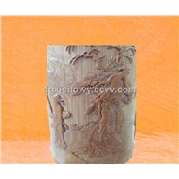 Woodenware wood carved Decorative Arts