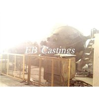 ZG230-450 Large Carbon Steel Slag Pot Castings EB4006