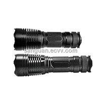 Zoomable Cree XM-L T6 1000 Lumen LED Torch Lamp