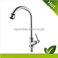 2015 Hot Sales Good Quality abs chrome plastic delta kitchen faucet KF-1004