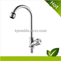 2015 Hot Sales Good Quality abs chrome plastic kitchen faucet KF-1005