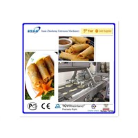 automatic spring roll making machine
