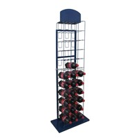 beverage display rack, water bottle display stands, wine bottle display rack