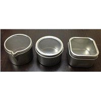 candle holder candle tin container
