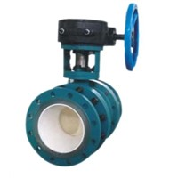 ceramic  lined ball valves
