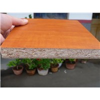 cherry melamine particle board