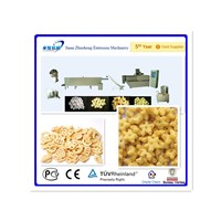 corn snacks food extruder machine/processing line