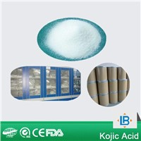 cosmetic raw materials whitening kojic acid 99% powder supplier in china