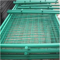 curvy welded wire mesh fence/mesh fence panel factory