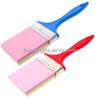 customized brush shaped post it notes