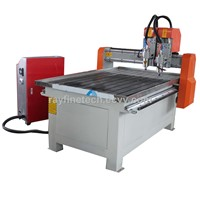 double heads sone cnc engraving machine RF-6015-2.2KW